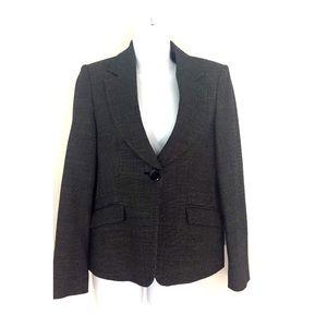 Armani Collezioni Black White Career Jacket